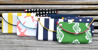 The Classic Clutch Cotton Canvas Collection