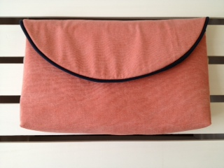 The Classic Clutch in Nantucket Red