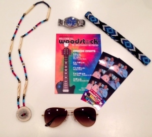 Woodstock Party Paraphernalia