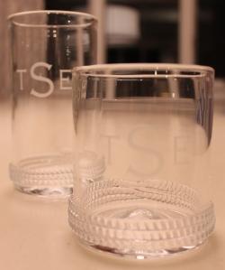 Monogrammed glasses